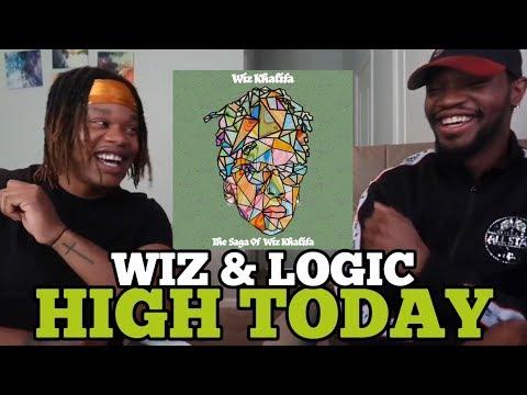 LOGIC AND WIZ 🔥   Wiz Khalifa - High Today feat. Logic [Official Audio]