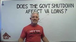 Does the Government Shutdown Affect VA Loans? | Low VA Rates