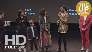 Little Woods panel talk with Nia DaCosta and Tessa Thompson at Tribeca Film Festival 2018