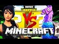 Minecraft: FORTNITE LUCKY BLOCK CHALLENGE | BATTLE ROYALE!!
