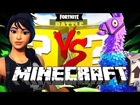 Minecraft: FORTNITE LUCKY BLOCK CHALLENGE   BATTLE ROYALE!!