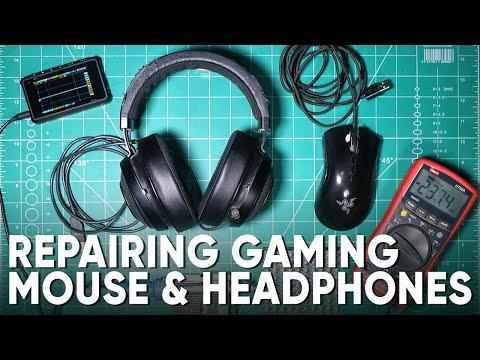 Repairing Razer Gaming Mouse & Headphones | Razer Kraken V2 | Razer Deathadder Elite Mouse