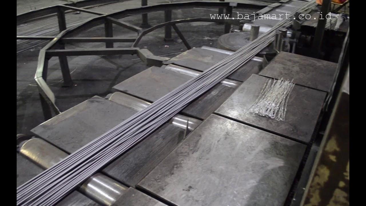 Pabrik Baja Ringan Terbesar Di Indonesia Besi Bajamart Co Id Youtube