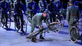 2016 VIT HD THE BAND OF THE NETHERLANDS MOUNTED ARMS REGIMENT - BIKES