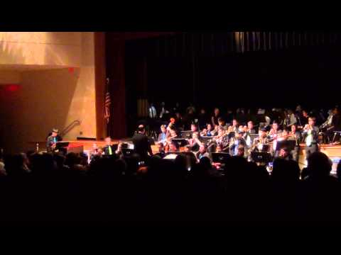 """New York, New York"" - Crossroads South Middle School - Jazz Band"