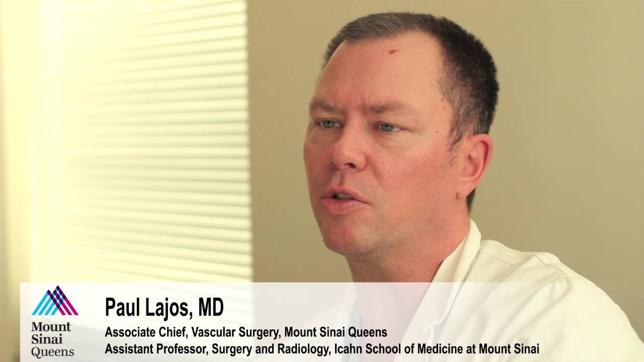 With services of a Vascular Surgeon, Mt  Sinai Queens now