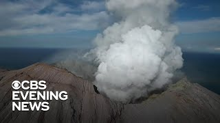 New Zealand volcano eruption leaves several dead