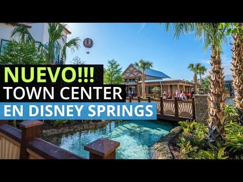 El Nuevo Town Center en Disney Springs