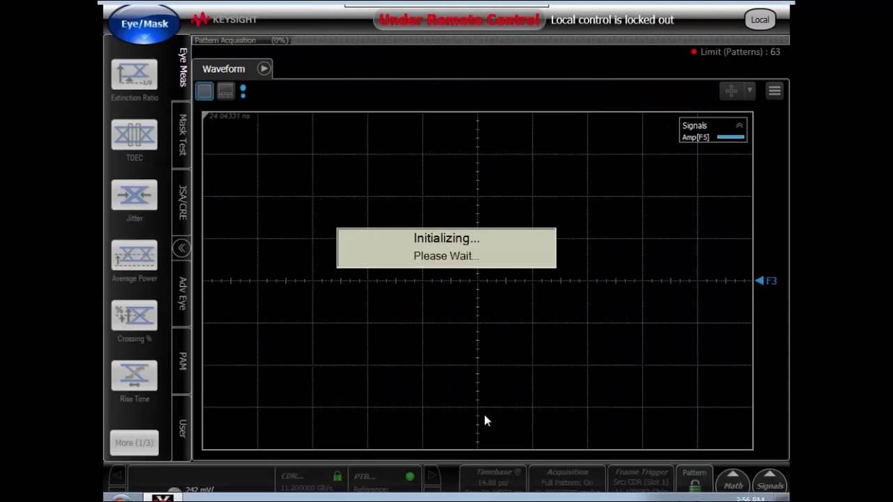 Compliance Application Automation using Python - Keysight 86100D Sampling  Oscilloscope