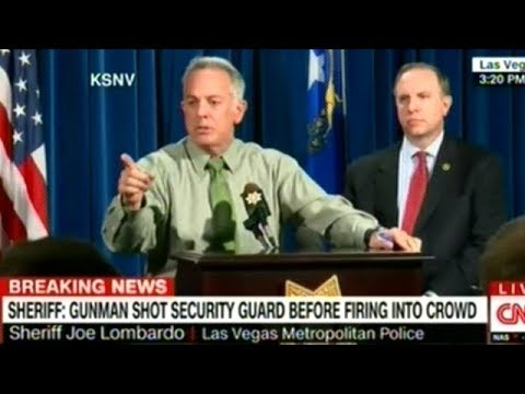 Hotel Security Guard Was Shot BEFORE Concert Shooting Started! Las Vegas Police Press Conf