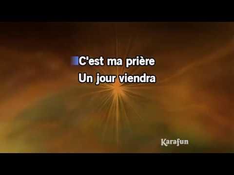 Karaoké C'est ma prière - Mike Brant *