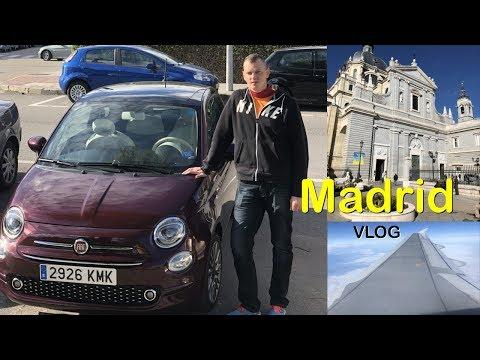Mit dem FIAT 500 durch Madrid, Sehenswürdigkeiten VLOG