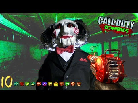 """Jigsaw """"SAW 2"""" Zombies Puzzle Map! (HARDER THAN THE FIRST!) - Black Ops 3 Custom Zombies"""