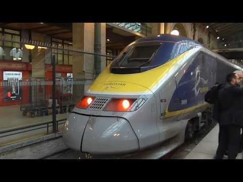 Eurostar Class 373 TGV TMST (e300) Ride: London St Pancras International to Paris Nord - 21/03/18