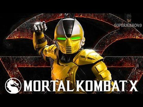 CYRAX DESTROYS SORE LOSER! - Mortal Kombat X