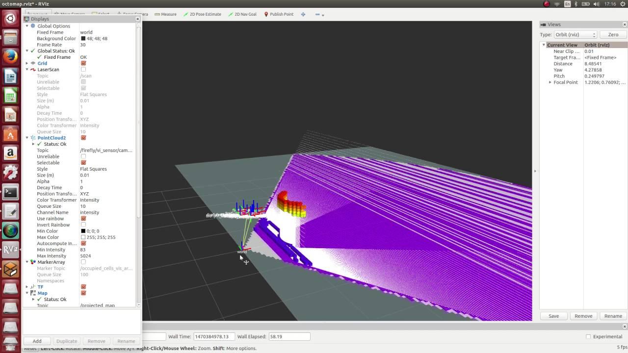 ROS Gazebo MAV Demo Simulation(AscTec Firefly)