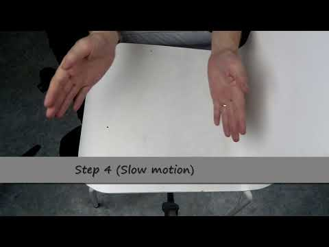 Hand Challenge Tutorial (Step by step HD)