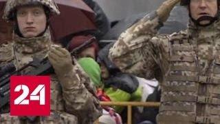 """""""Атлантическая решимость"""": американские военные прибыли в Польшу"""