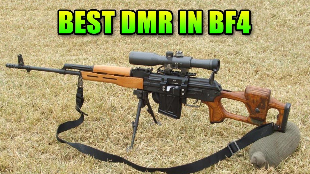 Battlefield 4 Best Dmr
