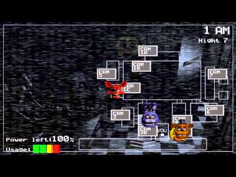 Five Nights at Freddy's - Android  - Cheat mode
