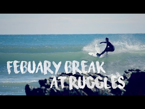 February Break at Ruggles || Winter Surfing || Newport RI