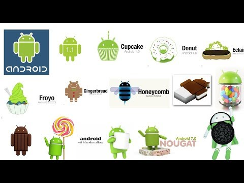 Android All Version History  (2008-2017)