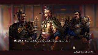 Romance of the Three Kingdoms XIII - longplay pt. 1 (Custom Ruler)