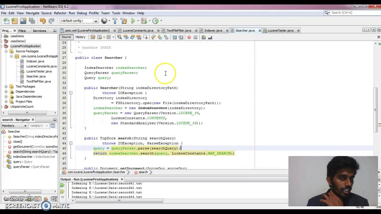 Lucene tutorial netbeans youtube lucene tutorial netbeans baditri Gallery