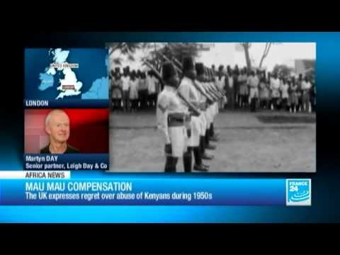UK to compensate Kenyans tortured in Mau Mau revolt - 06/06/2013