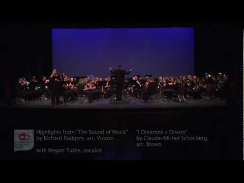 The Sound of Music - I Dreamed A Dream - Charlotte Concert Band