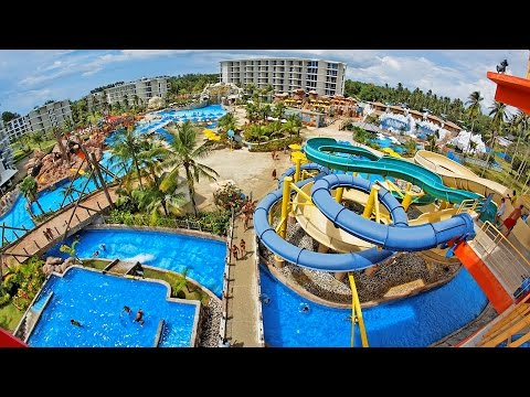 SPLASH JUNGLE WATER PARK PHUKET - Living in Thailand Vlog 056