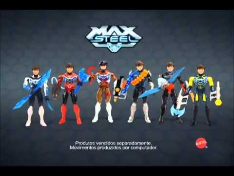 3e6c4b4edb Real Brinquedos - Bonecos Max Steel - Mattel - YouTube