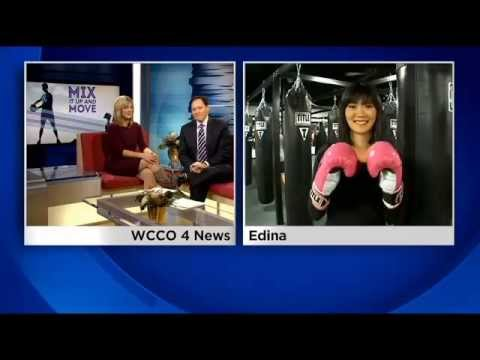 TITLE Boxing Club Edina : Stress Relieving Workout on WCCO News