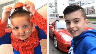 Superhelden en snelle auto's...