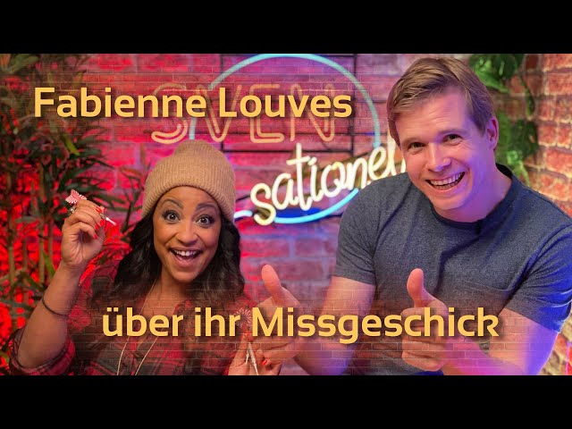 Fabienne Louves, Sängerin über ihr Missgeschick | SVENsationell #2