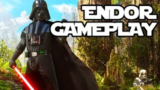 Star Wars Battlefront Endor Gameplay!! Single Player FULL GAME!! (1080p 60fps HD)