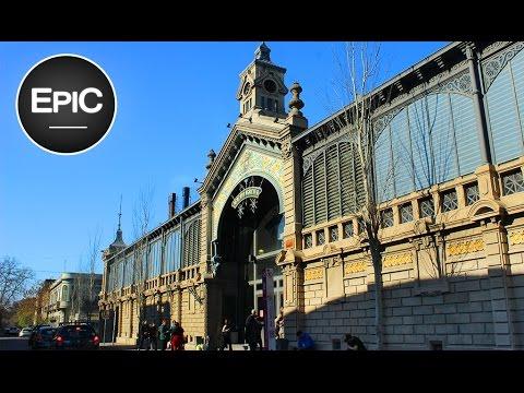 Mercado Agrícola - Montevideo, Uruguay (HD)