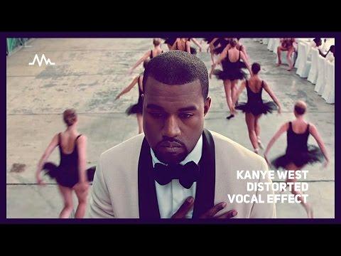Kanye West distorted vocal FX tutorial (Runaway)
