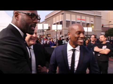Idris Elba at the NAACP Image Awards with Tyrese & Others!