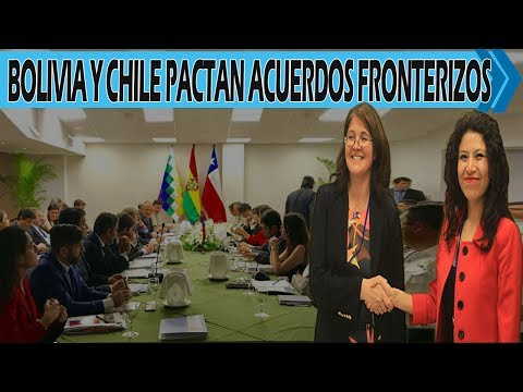 En Cordial Reunión Bolivia y Chile Alcanzan Más de 12 Acuerdos Fronterizos