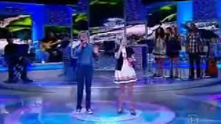 Jotta A e Michely Manuely - Aleluia - hallelujah - Programa Raul Gil, Jovens Talentos kids  10/09/11