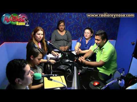 en muñekos radio  ♪ ♫ ♩  invitación para asistir al    viacrucis   en reynosa tamaulipas