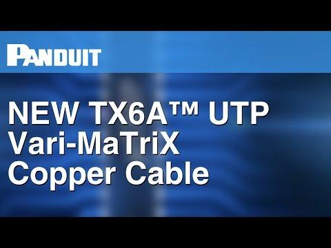 ケーブル径がより細くなって新登場。性能にも妥協がない、業界標準の「カテゴリ6A UTP ケーブル」
