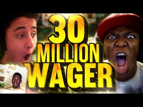 30 MILLION COIN WAGER (FIFA 14)