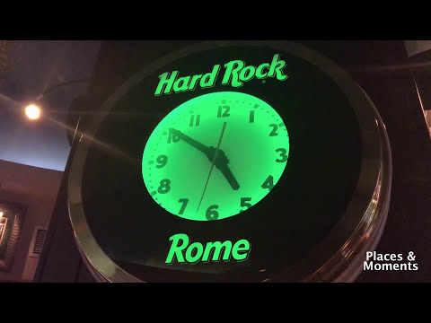 Hard Rock Cafe - ROME - Interior Review #2