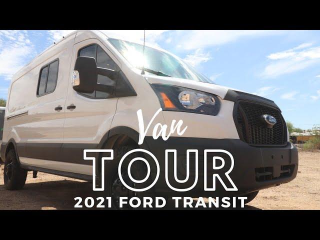 Amazing Adventure Van Tour | BRAND NEW 2021 Ford Transit ! |