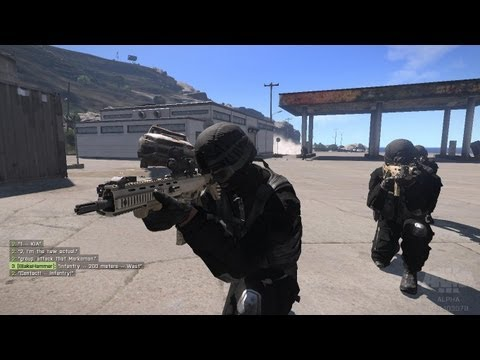 ArmA 3 Project: Police State (Scene: SWAT Team in action)