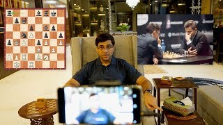 Brilliant insights by Vishy Anand on Carlsen Caruana World Championship 2018