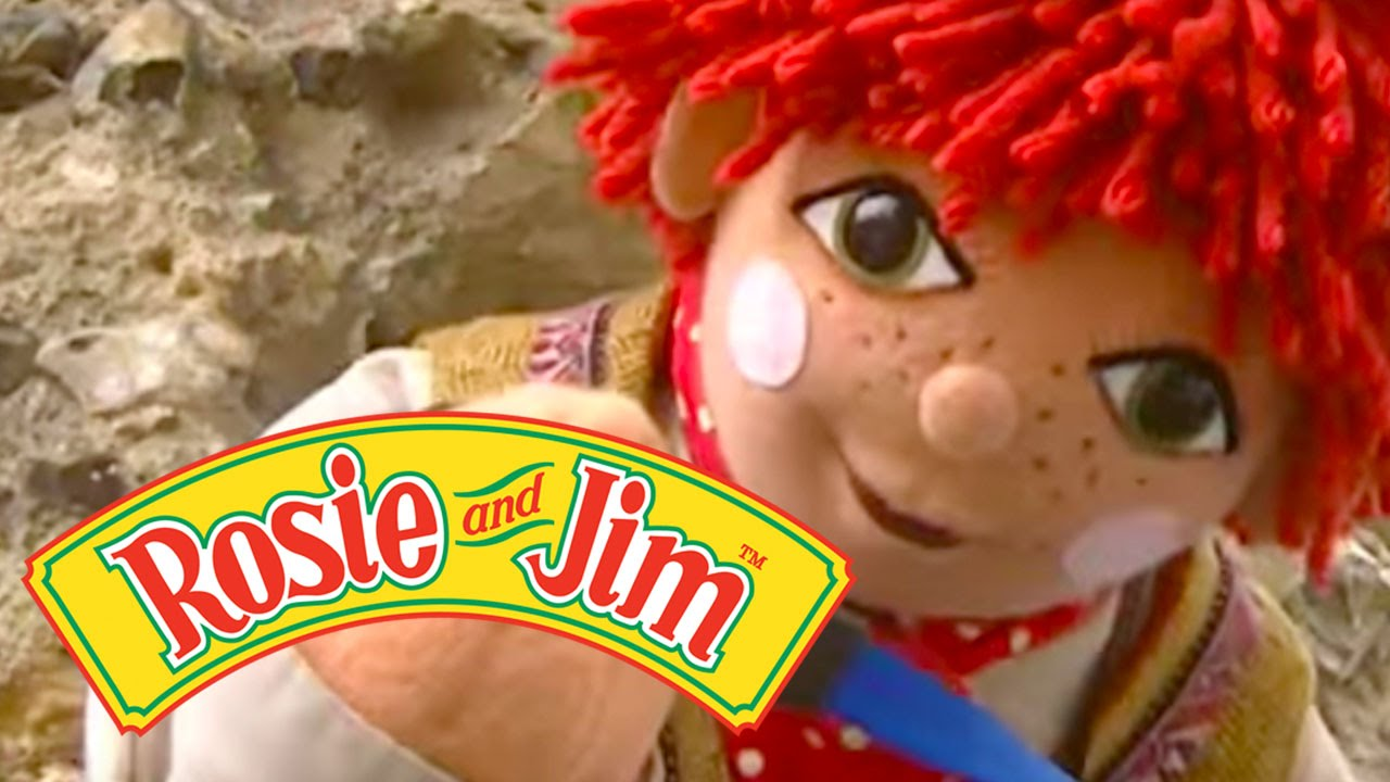 Rosie and jim 801 disappearing dog youtube for Jim s dog house