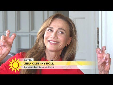 Lena Olin om att ta för sig som kvinna